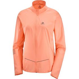 Salomon Sense Jacket Women papaya